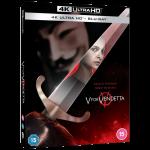 V For Vendetta Blu Ray 4K visuel produit
