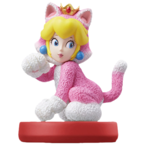amiibo peach chat cat visuel produit
