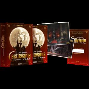 artbook collector aux origines de castlevania symphony of the night