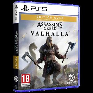 assassin's creed valhalla edition gold ps5 visuel produit