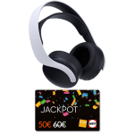 casque sony 3D pulse ps5 cartes jackpot fnac