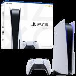 console ps5 standard packaging visuel produit