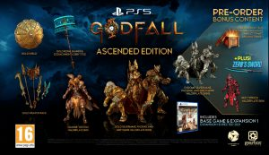 contenu godfall ascended edition