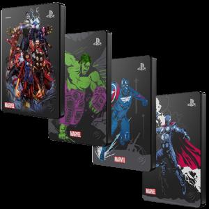 disque dur avengers pour PS4 visuel produit