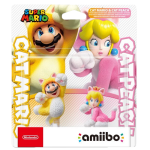 double pack amiibo chat cat mario peach visuel produit