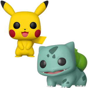 funko pop games pikachu bulbizarre visuel produit