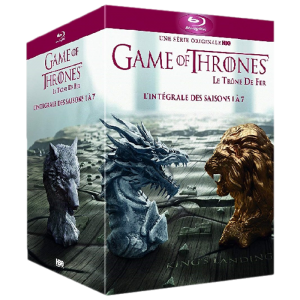 game of thrones integrale saisons 1 a 7 blu ray visuel produit