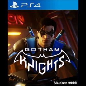 gotham knights ps4 visuel produit provisoire non officiel