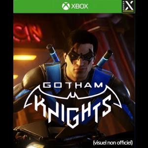 gotham knights xbox series x visuel produit non officiel provisoire