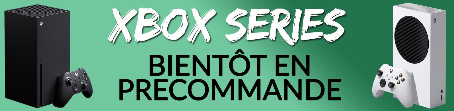 header bientot en precommande xbox series s x