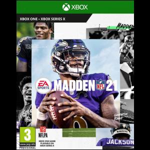 madden nfl 21 xbox one series x visuel produit
