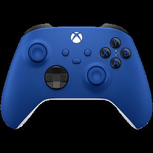 manette xbox series x bleu shock blue