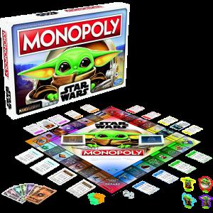monopoly star wars baby yoda l'enfant mandalorian mandalorien visuel produit