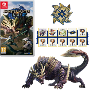 monster hunter rise collector switch visuel produit