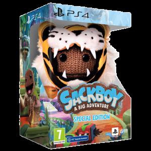 sackboy edition spéciale ps4 visuel produit