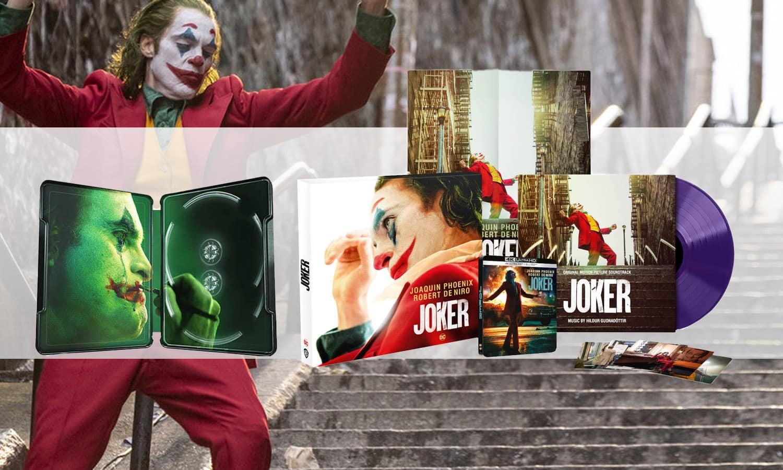 slider joker 4K collector blu ray