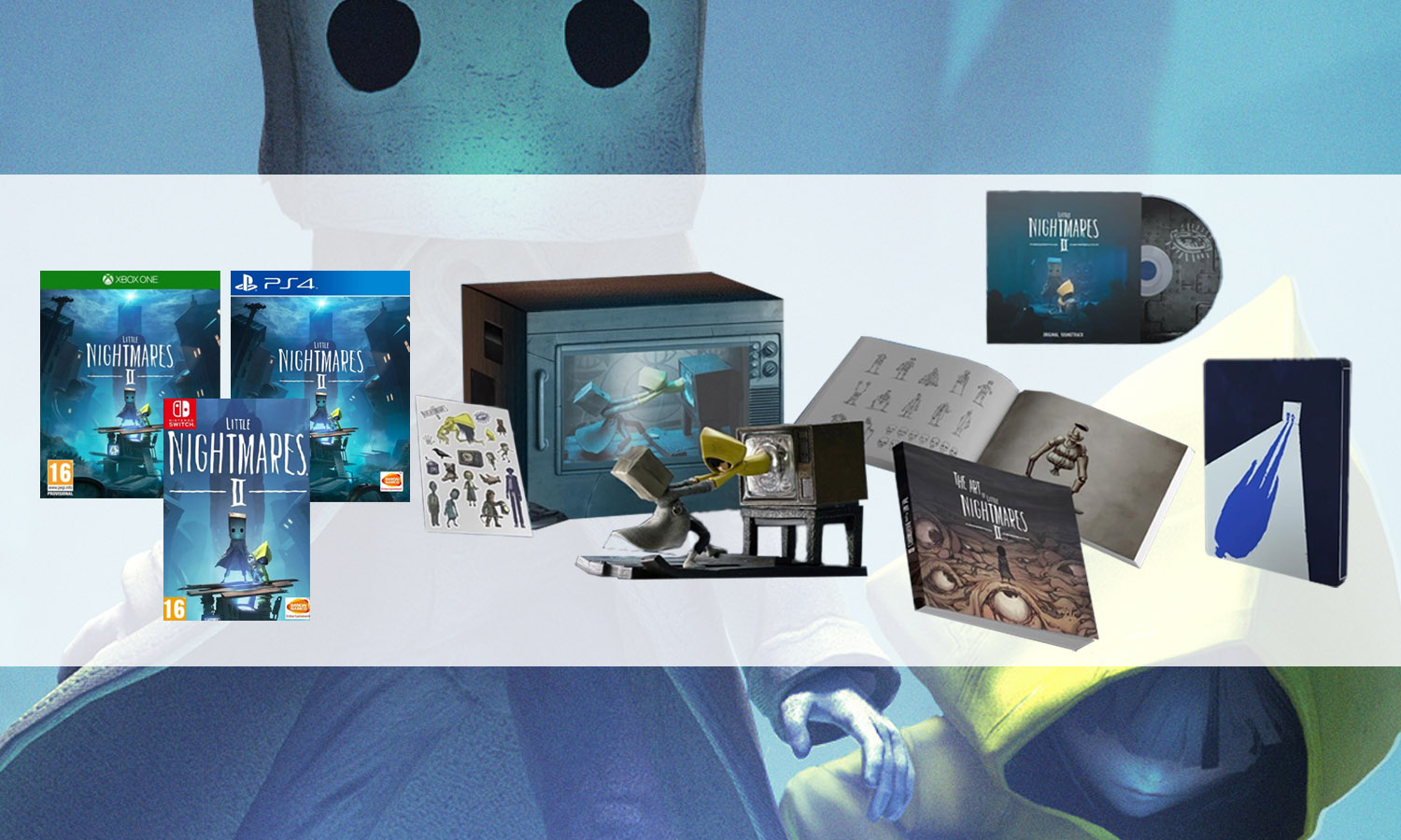 slider little nightmares 2 collector multi
