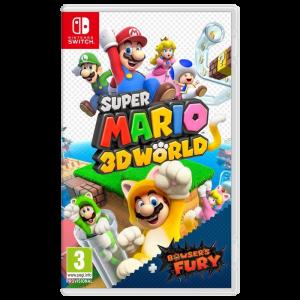 super mario 3D world Bowser Fury Switch visuel produit