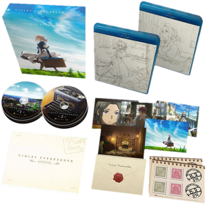 violet evergarden integrale collector blu ray visuel produit