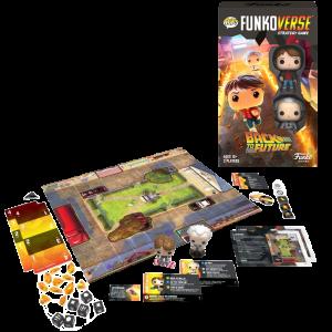 visuel produit jeu funko back to the future