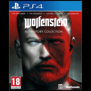 wolfenstein alt history collection PS4 visuel produit