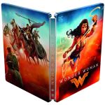 wonder woman blu ray 4k steelbook visuel produit