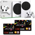 xbox series s cartes jackpot Fnac