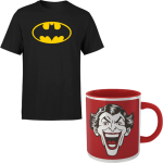 Lot T-Shirt Batman + Mug Joker