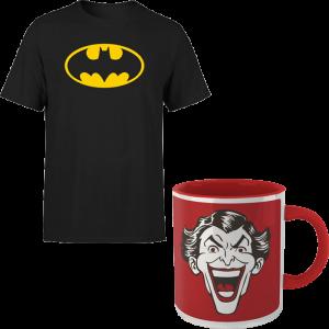 Lot T-Shirt Batman + Mug Joker