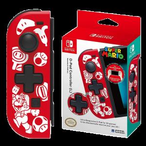 Manette D-Pad G Super Mario pour Nintendo Switch visuel produit