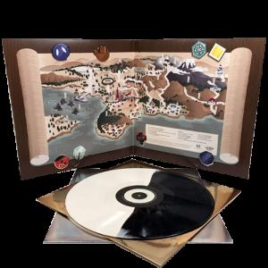Pokémon Or et Argent Johto Legends Album Vinyle visuel produit