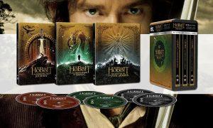 SLIDER trilogie le hobbit blu ray 4K steelbook