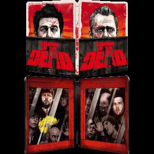 Shaun of The Dead Blu Ray 4K Steelbook visuel produit