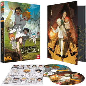 The promised Neverland saison 1 Blu ray visuel produit