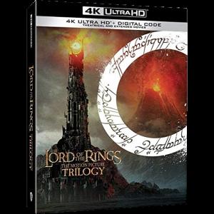 Trilogie Seigneur des Anneaux en Blu Ray 4K edition standard us visuel produit