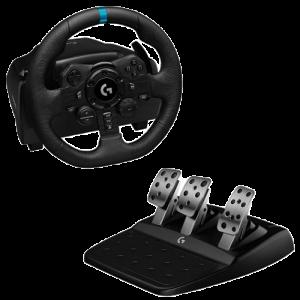 Volant + Pédalier Logitech G923 VISUEL Produit