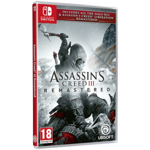 assassin's creed 3 remastered switch visuel produit
