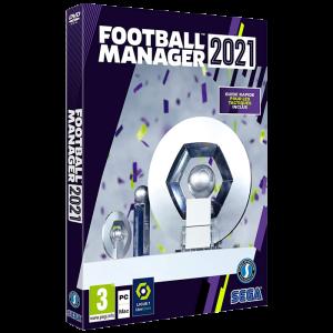 bon plan Football Manager 2021 PC et Mac visuel produit