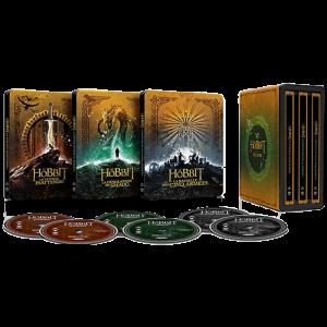 coffret blu ray 4k steelbook version longue hobbit visuel produit