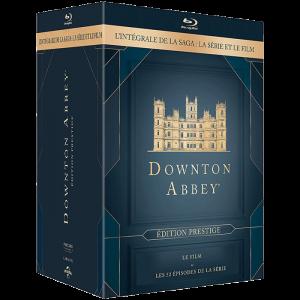 downton abbey intégrale bu ray visuel produit