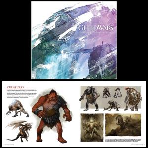 guild wars artbook visuel produit