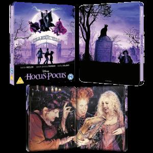 hocus pocus blu ray 4k steelbook visuel produit
