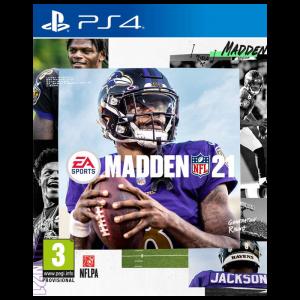 madden 21 PS4 visuel produit