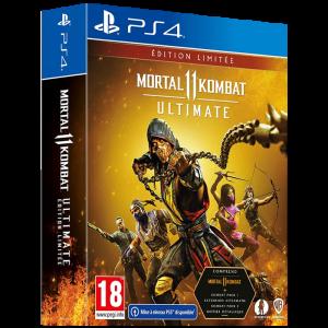mortal kombat 11 ultimate ps4 visuel produit edition limitée