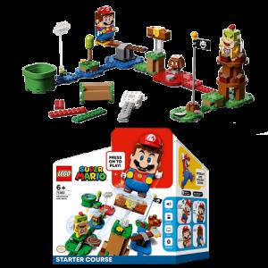 set mario lego 71360 Pack de démarrage visuel produit