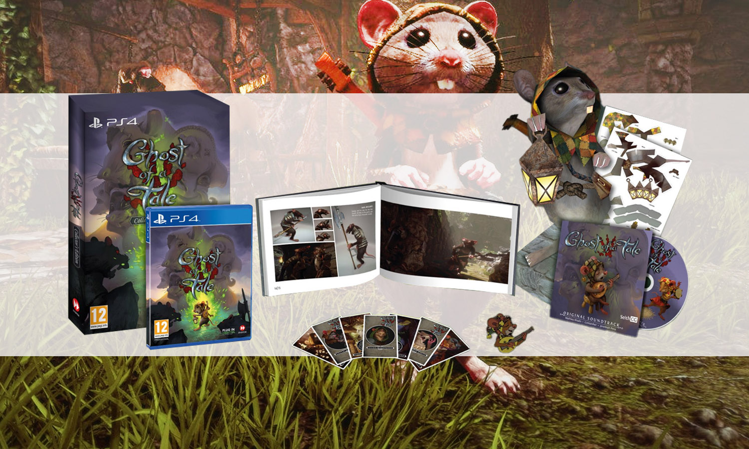 slider ghost of a tale ps4 collector v1