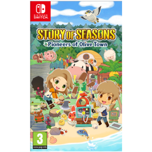 story of seasons olive town switch visuel produit