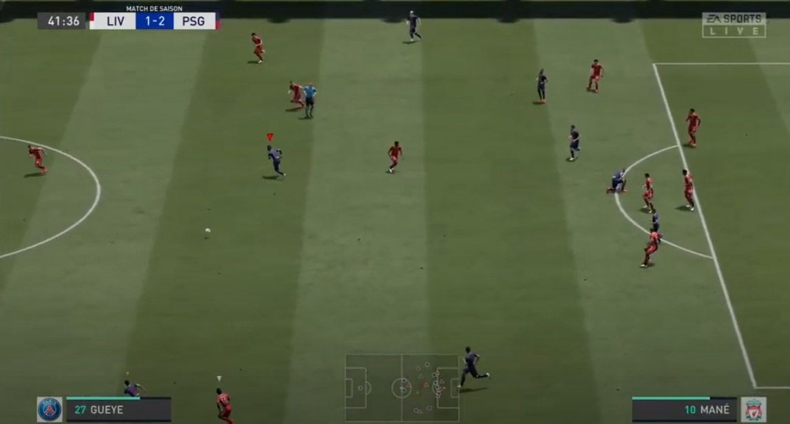 test fifa 12 ps4 screen milieux de terrain