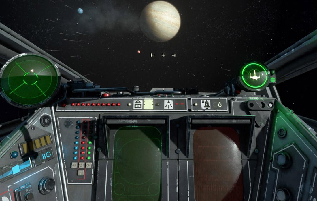 test star wars squadron en tête ps4