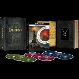 trilogie seigneur des anneaux collector 4K visuel produit US